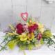 Cesta de flores frescas Camila
