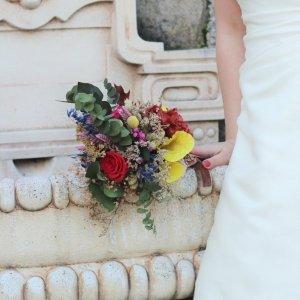 Ramo de novia de flores preservadas Frida