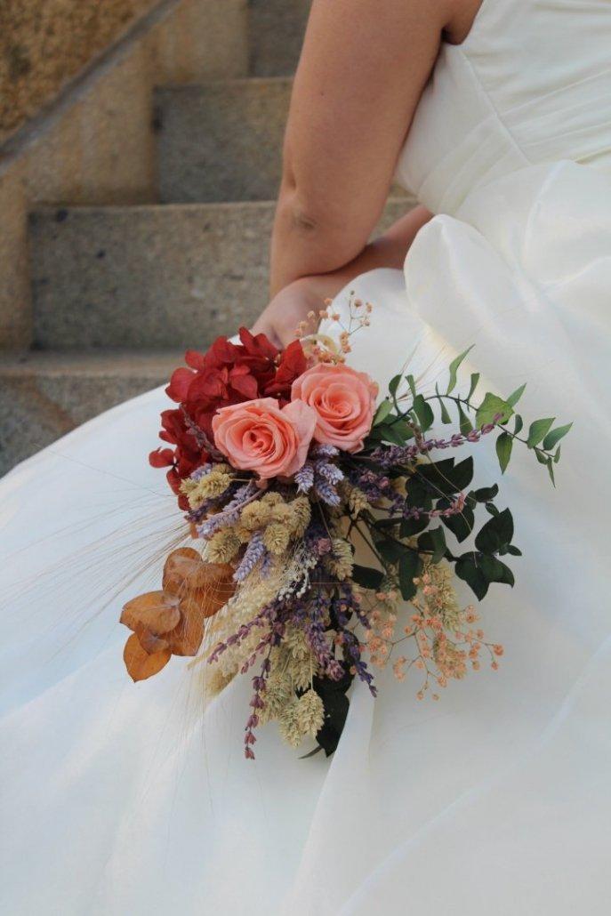 Ramo de flores preservadas Simone