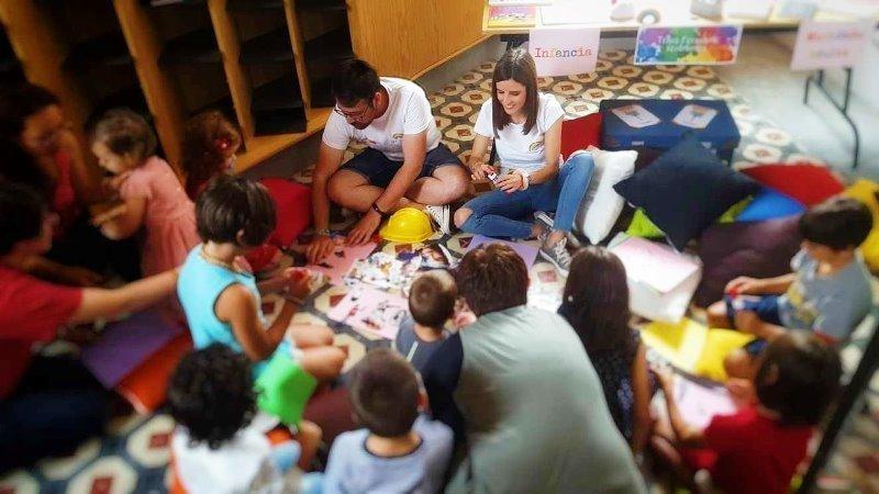 Talleres infantiles de Transformando Realidades