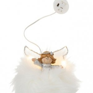 Ángel decorativo con luz led para Navidad y cualquier época del año