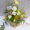 Caja de flores rosas y orquídeas Candela