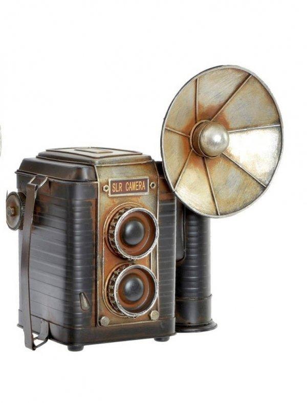 Cámara de vídeo vintage decorativa