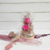 Inspiración para decoración con cúpula de rosas preservadas