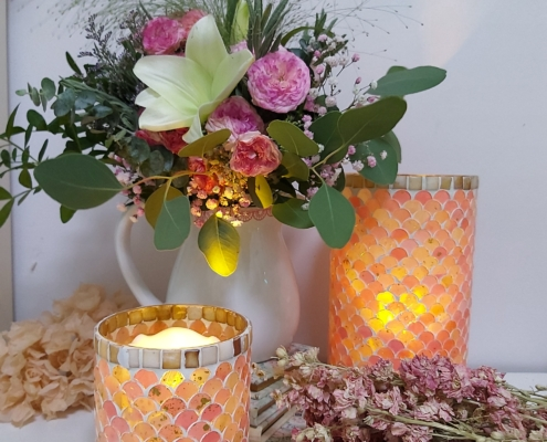 Portavelas para decorar la casa y ambientar momentos románticos