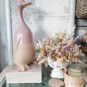 decoración figura de ceramica