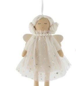 Ángel adorno colgante para decorar tu espacio de estudio, dormitorio o decoración del árbol de Navidad