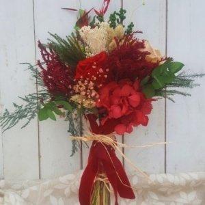 ramo de novia de flores preservadas Emilia