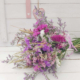Ramo de flores frescas para dejar secar lentamente y conservar durante largo tiempo en casa