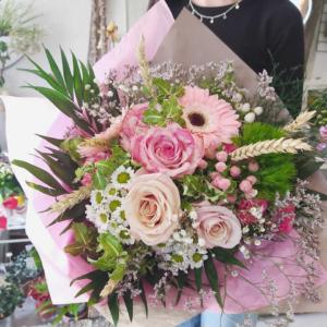 Ramo variado de flores frescas Claudia