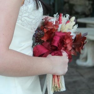 Ramo de novia preservado Lupita