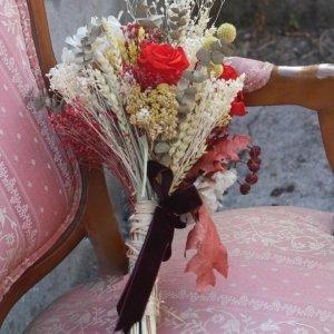 ramo de novia preservado Rosalia