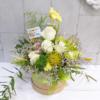 Sombrerera con rosas y orquídeas Candela