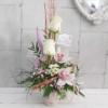 Taza con rosas y orquídeas Berta