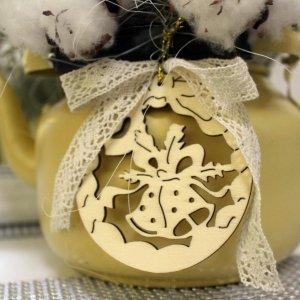 Decoración en Navidad estilo natural