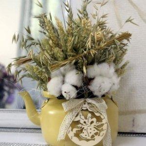 Centro floral para regalar en Navidad
